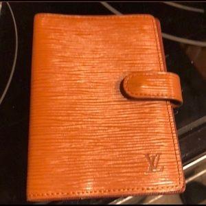 Louis Vuitton epileather PM agenda